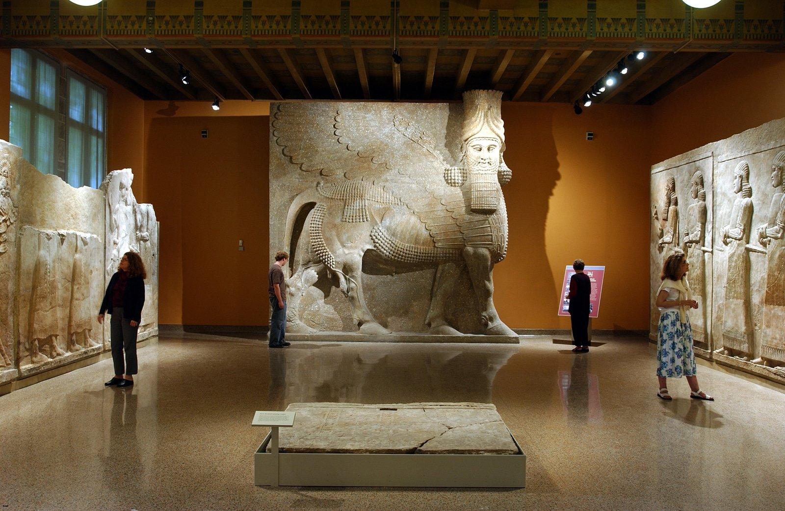 Oriental Institute- assyrian bull