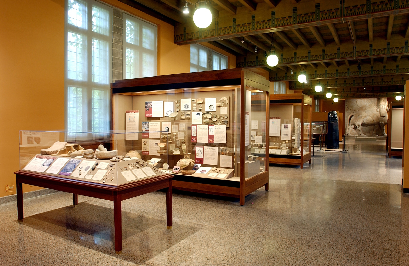 Oriental Institute- cases