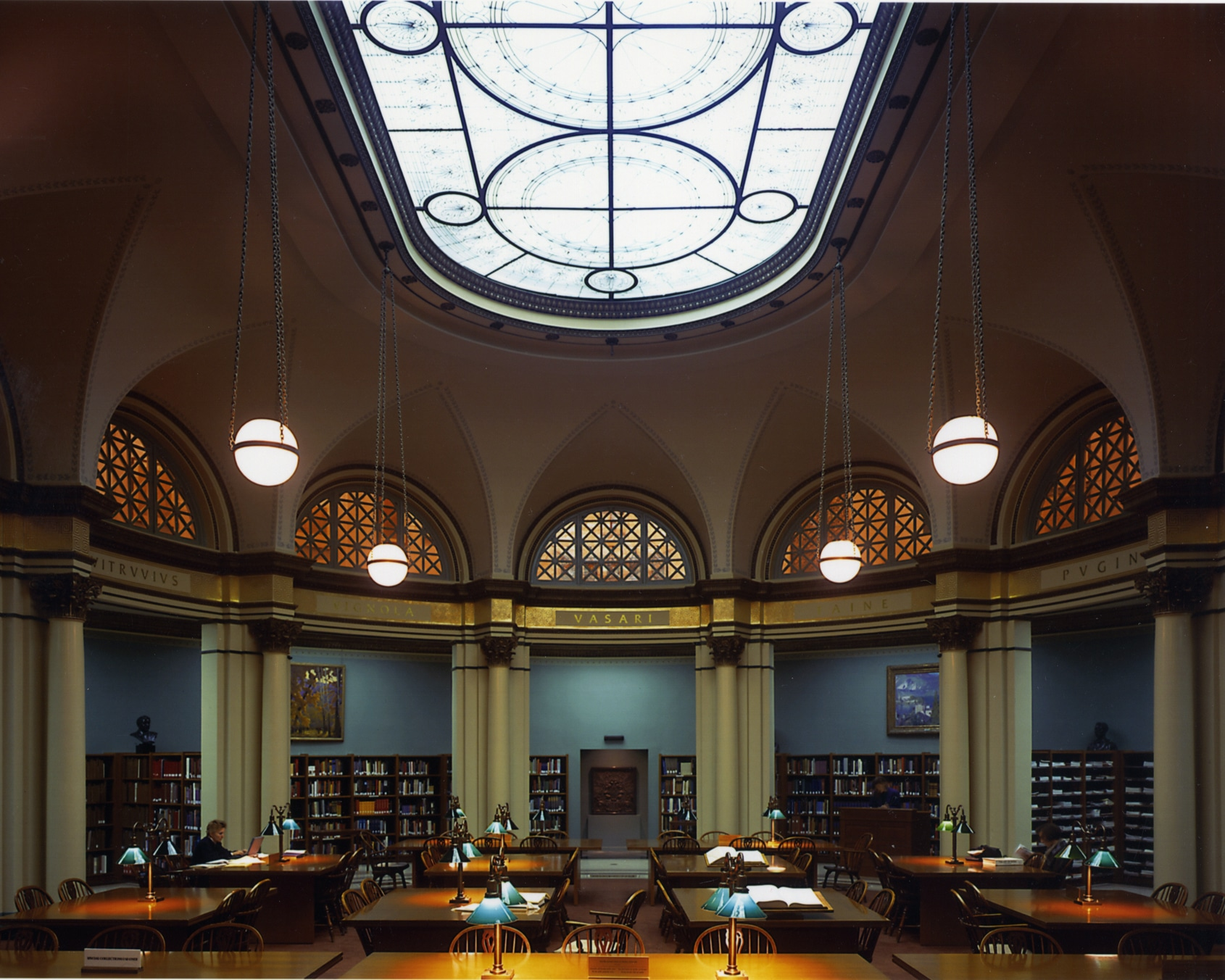 The Art Institute Of Chicagou0027s Historic Reading Room Was Designed In 1901  By The Boston Firm Of Shepley, Rutan And Coolidge, Architects Of The  Original Art ...