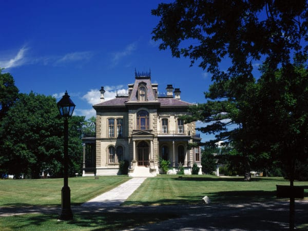 David Davis Mansion ext 3