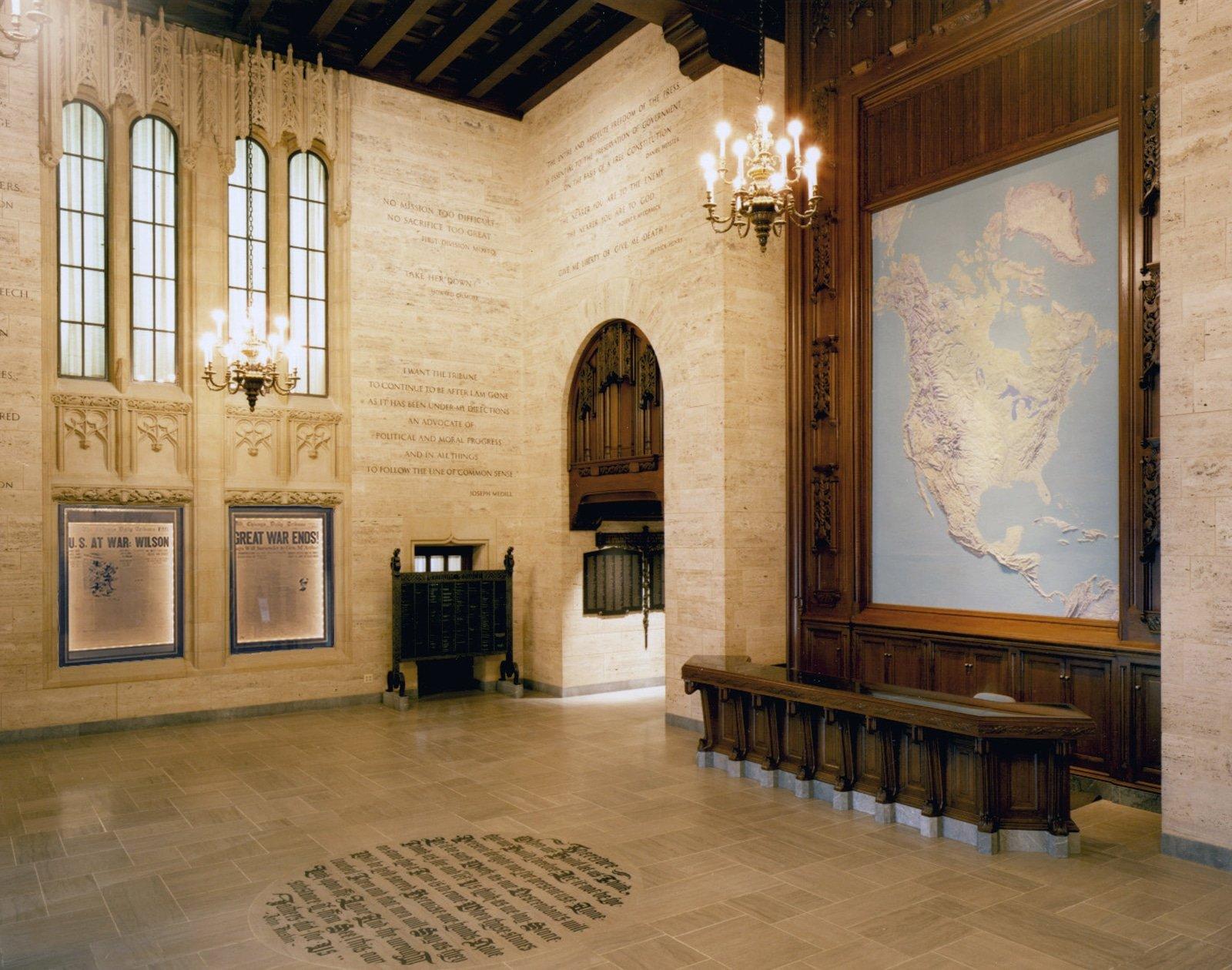 Tribune lobby