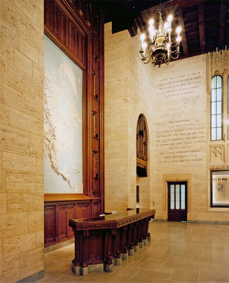 Tribune lobby 2